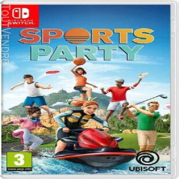 Sports party - jeu pour nintendo switch et switch