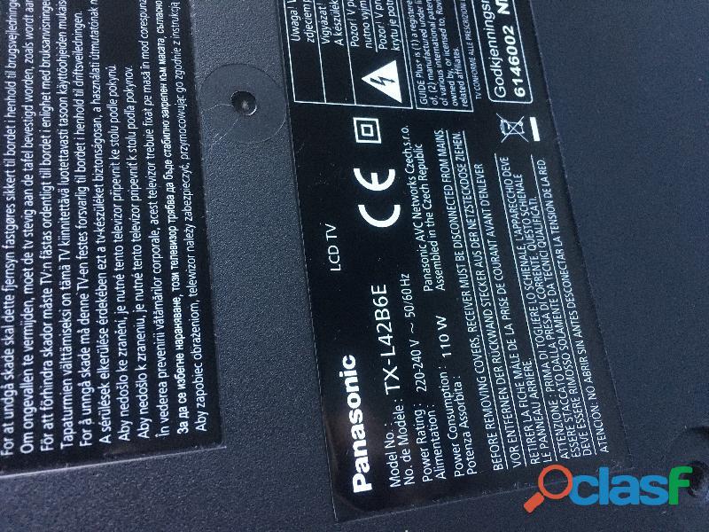 TV Panasonic 107 cm