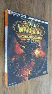 Gros guide de stratégie world of warcraft cataclysm jeu
