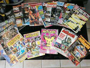 Lot magazines / tips / astuces mania / années consoles jeux
