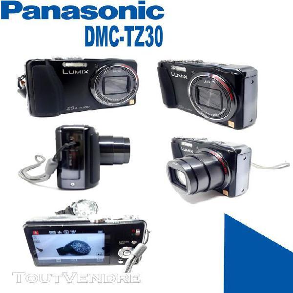 Panasonic lumix dmc tz30 appareil photo numérique noir