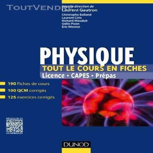 Physique - licence, capes, prépas