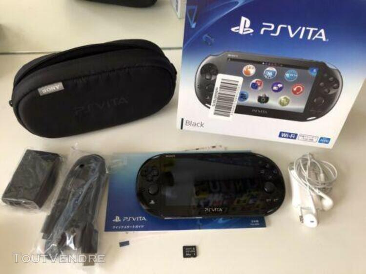 Ps vita 2 (pch-2000 za11) modèle japonais + accessoires
