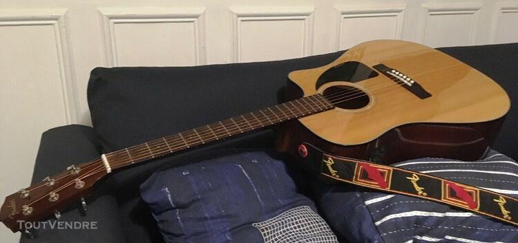 Guitare électro-acoustique fender cd-60ce