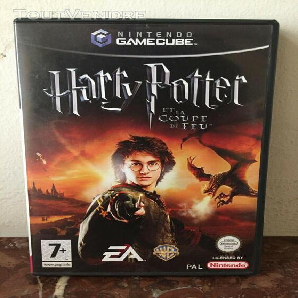 Harry potter et la coupe de feu nintendo gamecube (complet)