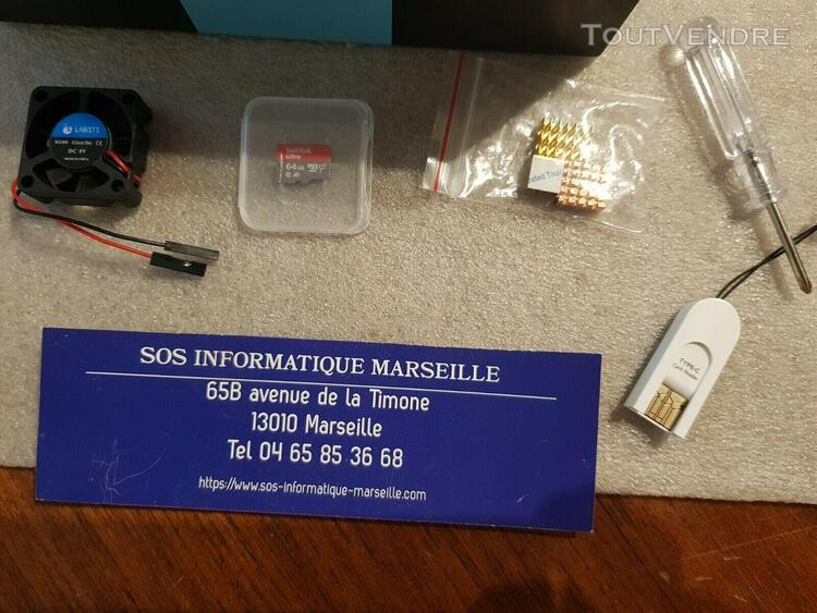 Labists raspberry pi 4 b 4gb ram board + 64gb micro sd card