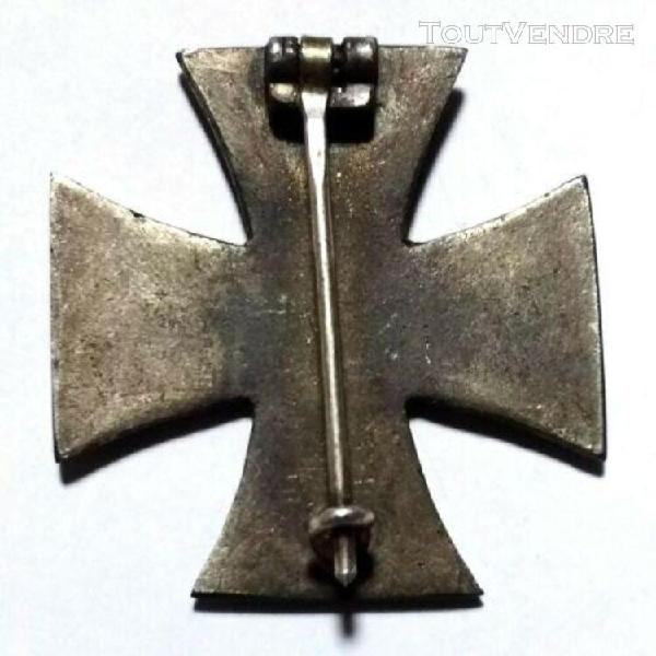 Médaille allemande de ww1 (croix de fer 1914 iron cross) g