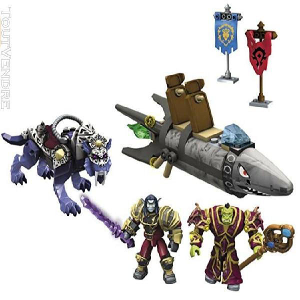 Mega bloks world of warcraft barrens chase 91025