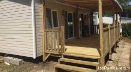 Mobil-home à pont aven au camping 4 étoiles
