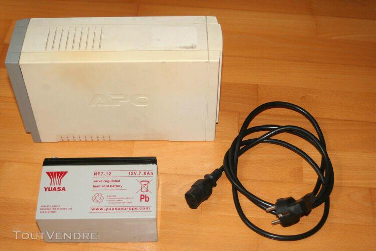 Onduleur informatique apc back-ups cs 500