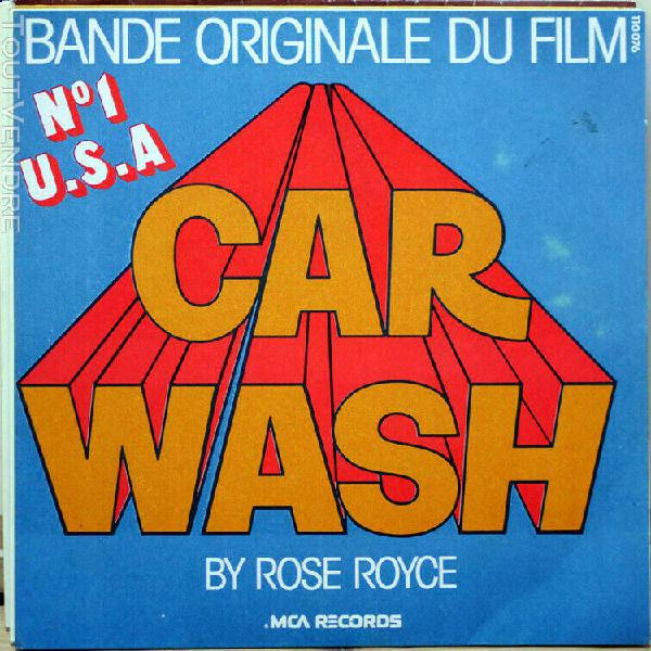Ost bo norman whitfield car wash 45t/rose royce/