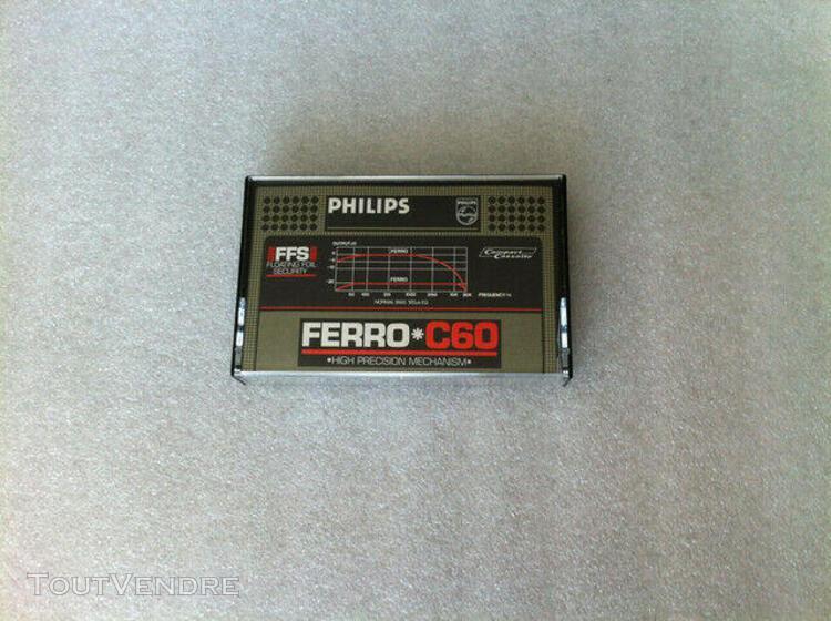Philips ferro c60 rare vintage audio cassette tape used 1981