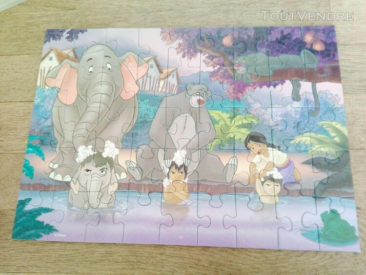 Puzzle le livre de la jungle 2 disney 45 pièces 5 ans et +