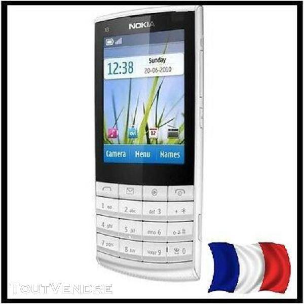 Téléphone nokia x3-02 blanc
