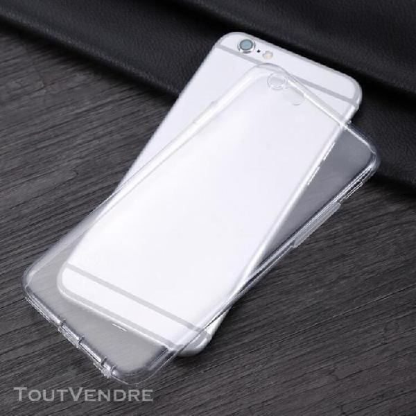 Transparent blanc housse etui protection tpu très mince