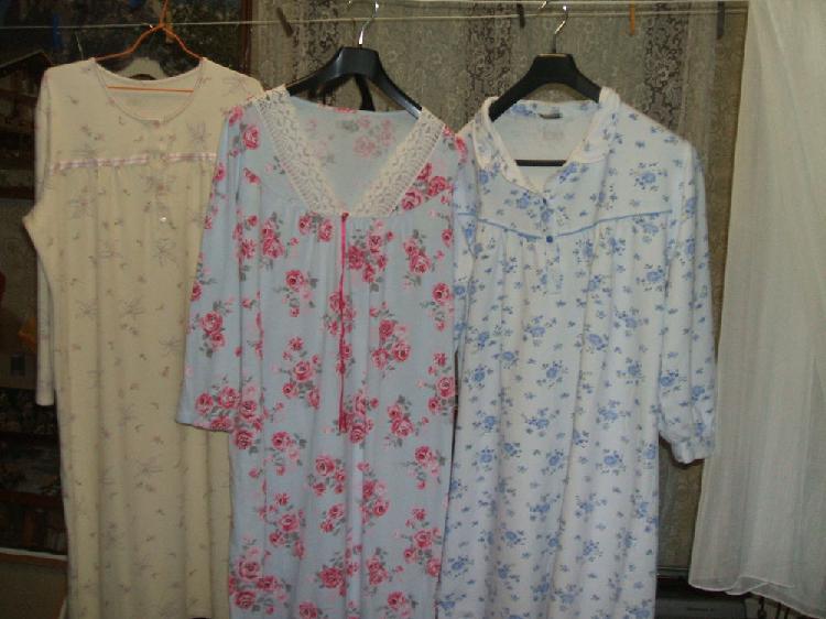 3 chemises de nuit 42/44 occasion, septvaux (02410)