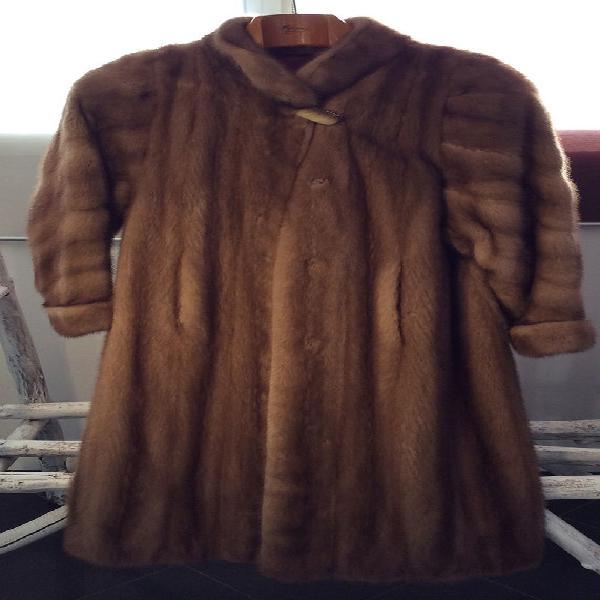 Manteau long de fourrure - vison - fourrure medelin neuf,