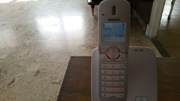 Telephone sans fil philips cd 560 occasion, firminy (42700)