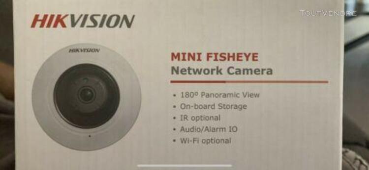 Caméra hikvision fisheye ds-2cd2942f 1.6mm /!/ neuve /!/