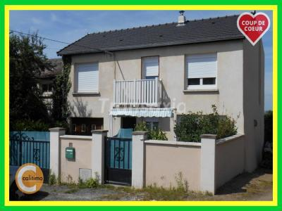 Maison à vendre montlucon 6 pièces 110 m2 allier