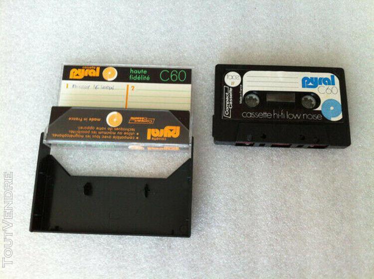 Pyral haute fidelite c60 rare vintage type i audio cassette