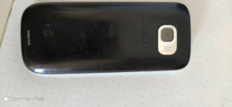 Téléphone mobile nokia c2-01 - noir