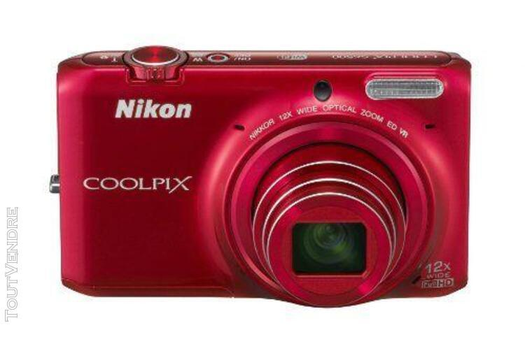 Appareil photo numérique nikon coolpix s6500 zoom optique
