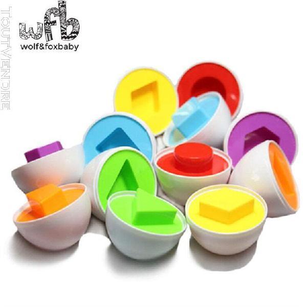 Au détail 6 pcs/paquet bébé jouets éducatifs pour