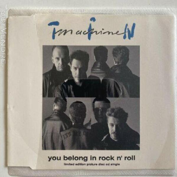David bowie you belong in rock n roll maxi cd