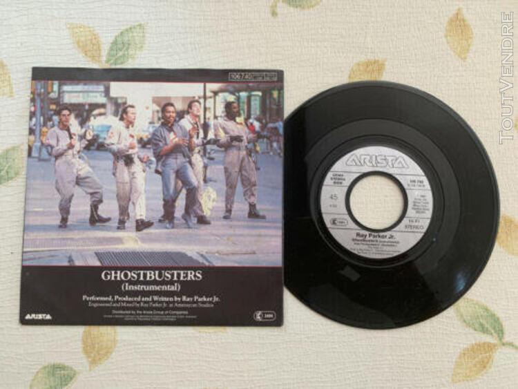 Disque vinyle 45t - ghostbusters ray parker jr