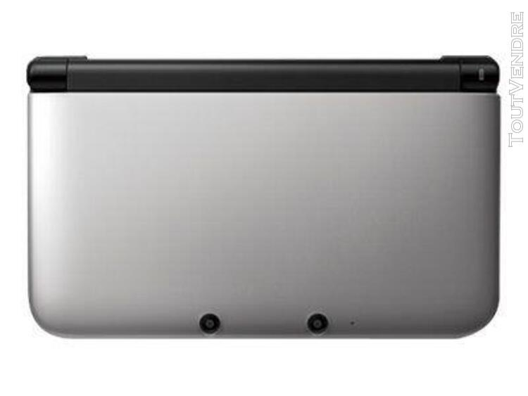 Nintendo 3ds xl - console de jeu portable - argent - luigi's
