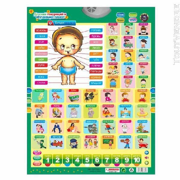 Russe enfants jouets éducatifs phonique tenture murale