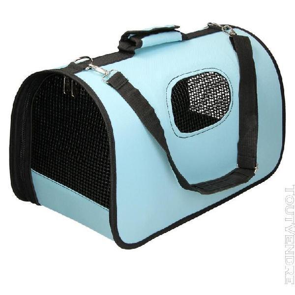 Sac de transporteur compact pliable chiens chats sac de voya