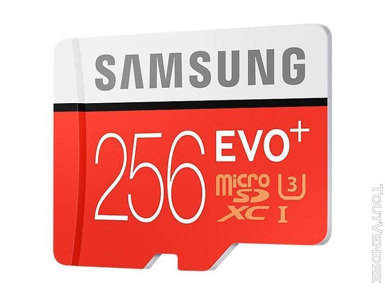 Samsung evo+ mb-mc256d - carte mémoire flash (adaptateur