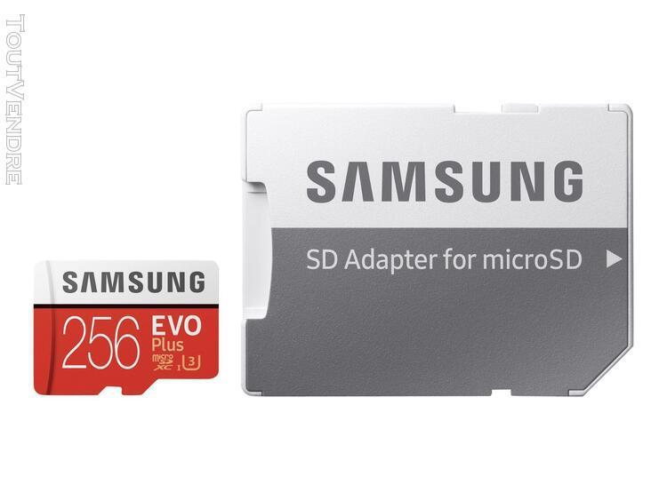 Samsung evo plus mb-mc256g - carte mémoire flash
