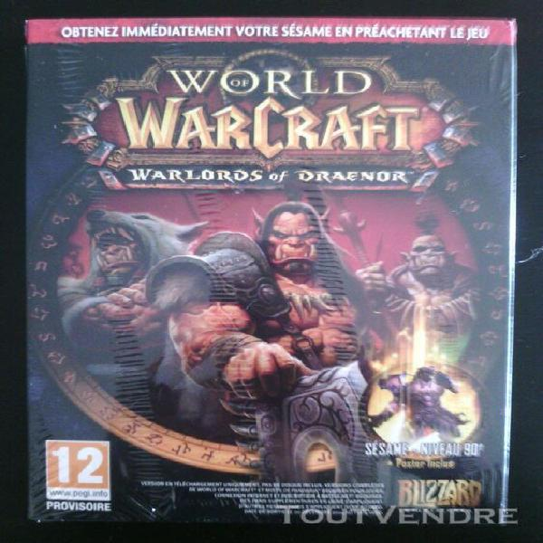 World of warcraft - warlords of draenor kit pc