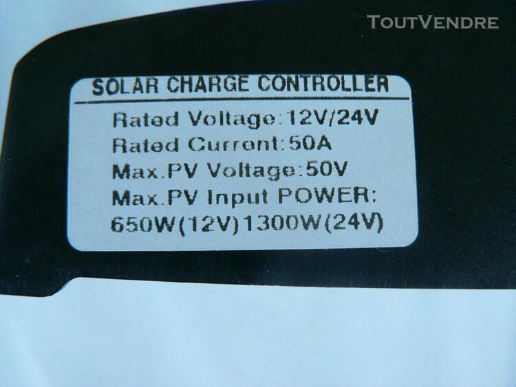 50a régulateur de panneau solaire mppt régulateur de