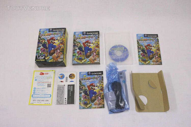 Jeux video mario party 7 complet gc nintendo gamecube japona