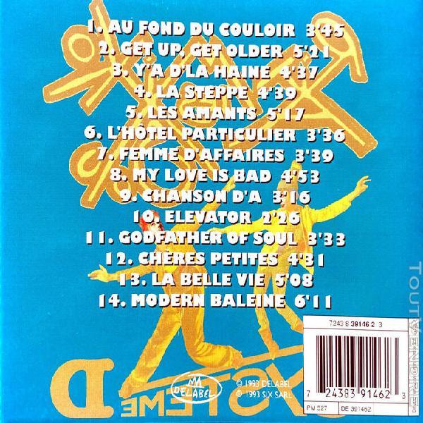 Les rita mitsouko cd systeme d - france (ex+/vg+)
