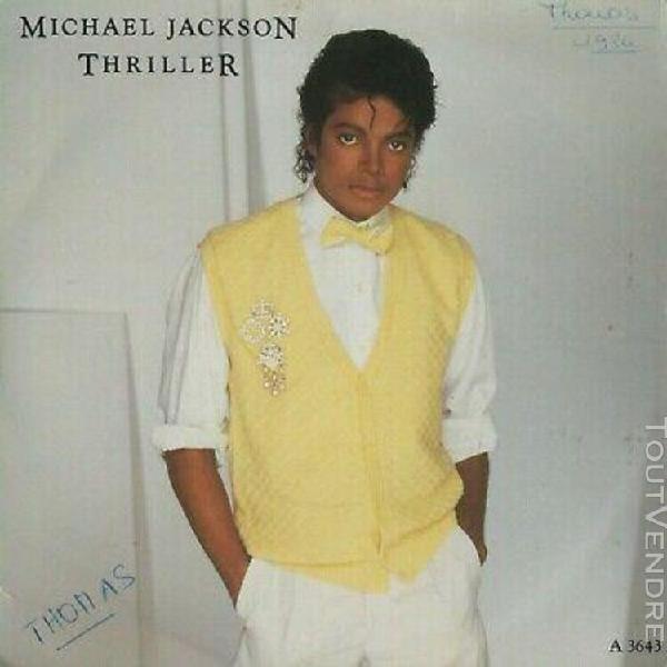 Michael jackon - thriller - disque vinyle d'époque en très