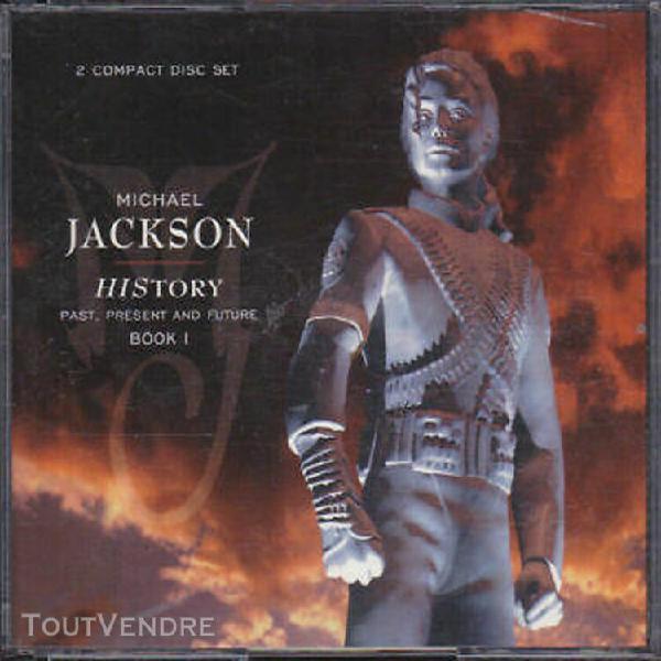Michael jackson coffret history double album cd box set disc