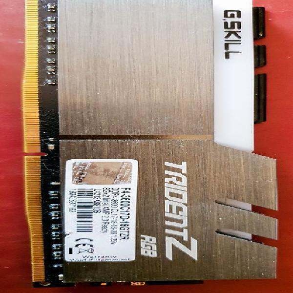 Mémoire ddr4 trident f4 3600 mhz neuf, dunes (82340)