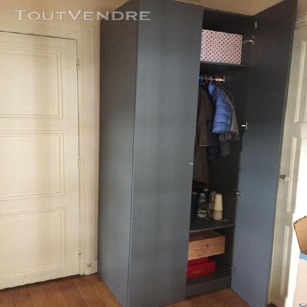 Placard Penderie Leroy Merlin Gris Anthracite 60x60x230 Cm A Asnieres Sur Seine Clasf Maison Jardin