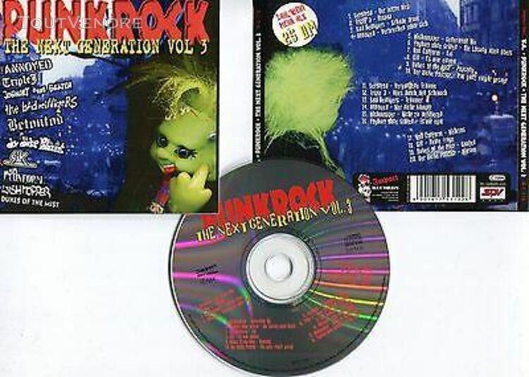 """Punk rock """"the next generation vol.3"""" (cd)"""
