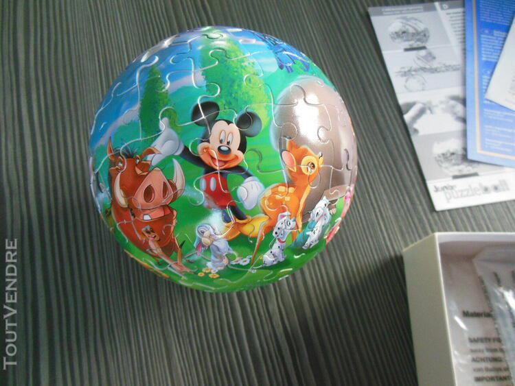 Puzzle ball 3d enfant 96 pièces disney
