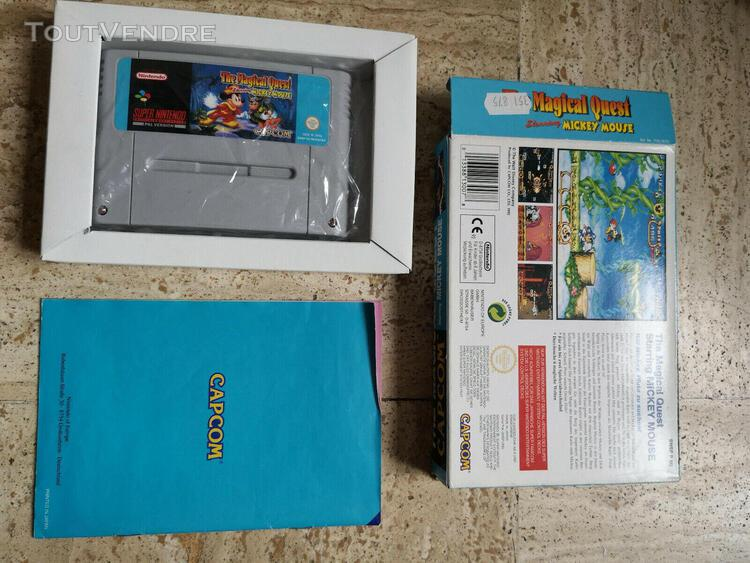 The magical quest starring mickey mouse - super nintendo sne