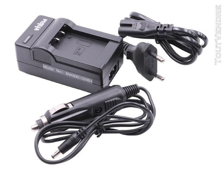 Vhbw chargeur de batterie compatible avec sony fdr-x1000, fd