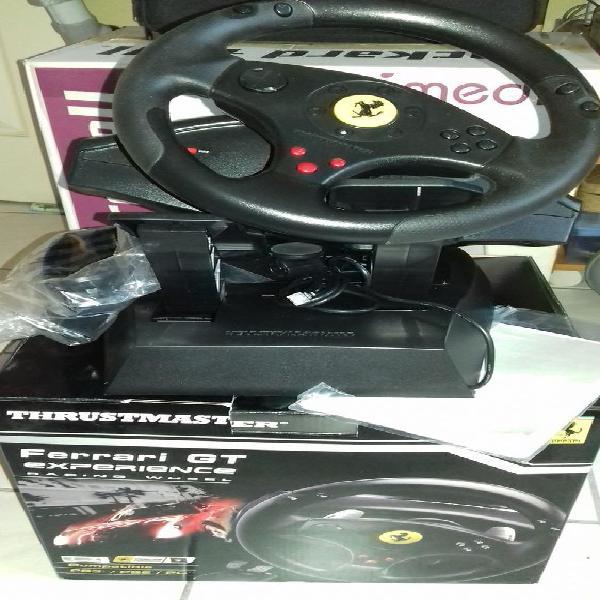 Volant thrustmaster console + pc neuf/revente, eaubonne