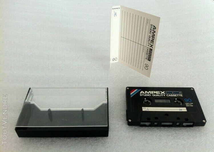 Ampex 364 20:20+ studio quality 90 audio cassette tape used