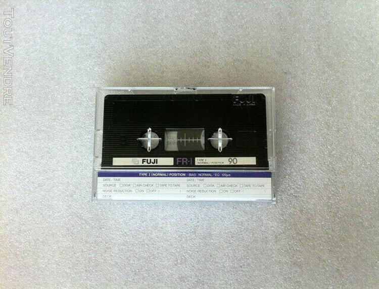 Fuji fr-i 90 audio cassette tape new made in japan